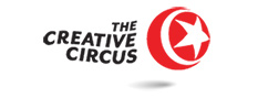 This is the logo for The Creative Circus.